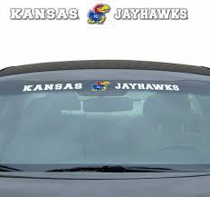 New Ncaa Kansas Jayhawks Car Truck Suv Windshield Vinyl Decal For Sale Online