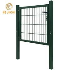 Durable Metal Fence Door Garden Mesh Gate