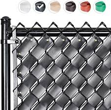 Fenpro Chain Link Fence Privacy Tape Obsidian Black Amazon Ca Patio Lawn Garden