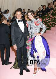 Dominic West, Martha West at THE METROPOLITAN MUSEUM OF ART'S COSTUME  INSTITUTE BENEFIT CELEBRATING THE OPENING
