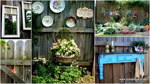 Get Creative With These 23 Fence Decorating Ideas And Transform Your Backyard