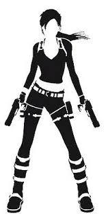 Decal Vinyl Truck Car Sticker Video Games Tomb Raider Lara Croft Ebay