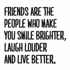 friends make us smile brighter quote meeting new friends quotes
