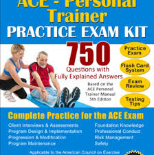 ace certified personal trainer exam