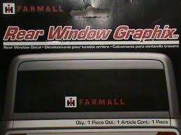 3 7x15 8 Ih International Harvester Case Sticker Decal Tractor Farm Rear Window