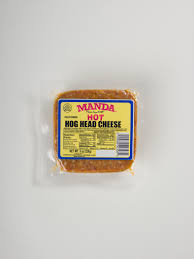 manda hot hog head cheese 8 oz