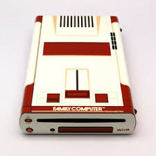 Premium Skin Sticker For Nintendo Wii U Console Wrap Pop Skin Famicom Edition Ebay