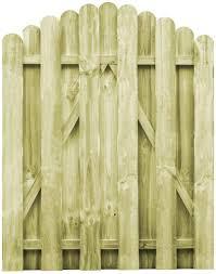 Festnight Garden Fence Gate In Arch Pine Wood Fsc Impregnated Pine Wood 100 X 75 Cm Amazon Co Uk Diy Tools