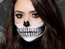 skeleton makeup tutorial perfect half