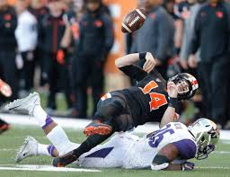 Travis Feeney's chase-down tackle kept OSU from scoring in the first half |  Bellingham Herald