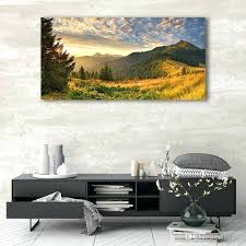 Large Nature Wall Art 5 Piece Canvas Print Green Scenery Home Decor Photo Toqueglamour