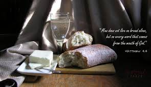 Soul Food Sunday: Matthew 4:4 (Word: The Real Bread of Life ...