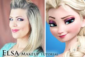 elsa of arendelle makeup tutorial