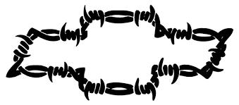 Chevy Barbed Wire Bowtie Decal Sticker