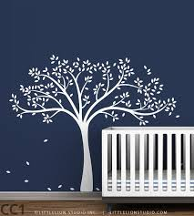 It Comes In The Perfect Grey Colour Branches Are Wide Enough To Hang Letters Or Name From And It Ha Baby Nursery Wall Decor Nursery Wall Decor Tree Wall Decal