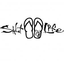 Signature Sandal Decal Decals Gear Salt Life Decals Salt Life Life