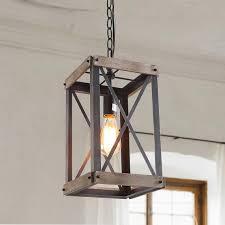 industrial style pendant light kitchen