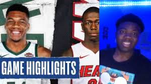 Milwaukee Bucks vs Miami Heat Reaction ...