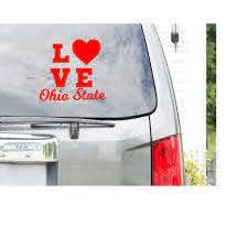 Osu Brutus Decal Car Decal Car Window Sticker Laptop Decal Etsy