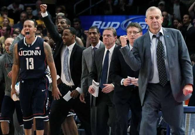 Image result for Jim Calhoun Thinks His Huskies Still Have Work To Do If They Want to Dance""