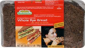 mestemacher whole rye bread 17 6 oz
