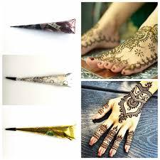 Piekno Tribal Naturalny Ziolowy Indyjski Tatuaz Henna Wklej Krem