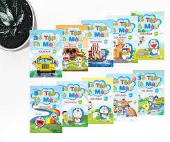 Combo Bé Tập Tô Màu Doraemon ( 10 quyển )