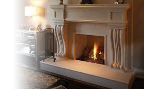 artisan cast stone fireplace mantels