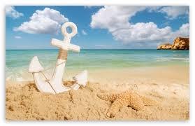 anchor on the beach ultra hd desktop