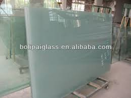 tempered frosted glass for door panels
