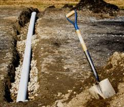 black corrugated pipe for french drain