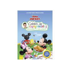 Cuento Con Pictogramas Celebro Mi Cumpleanos Con Mickey