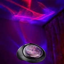 Night Light Projector Sound Machine White Noise Machine Bedroom Adult In Nursery Kids Colorful Nightlight Aurora