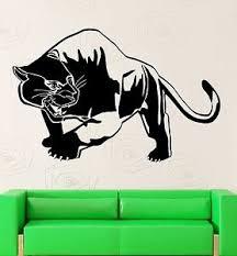Tiger Panther Wall Stickers Predator Animal Tribal Decor Vinyl Decal Ig2361 Ebay