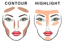 contour and highlight your face
