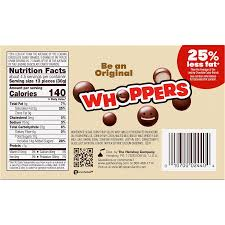 whoppers original malted milk