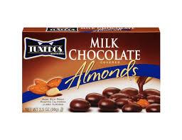 tuxedos milk chocolate ered almonds