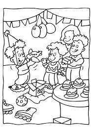 Kleurplaat Verjaardag Feest Gratis Kleurplaten Om Te Printen