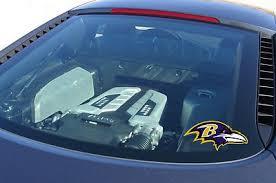 Baltimore Raven Nfl Vinyl Sticker Decal Window Car Laptop Wall Large 2pcs 477774166