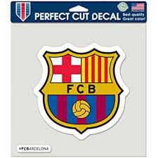 Amazon Com Fc Barcelona Spain Football Soccer Futbol Car Sticker 4 Automotive
