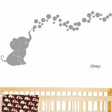 Decalthewalls Elephant Bubbles Nursery Room Removable Wall Decal Reviews Wayfair