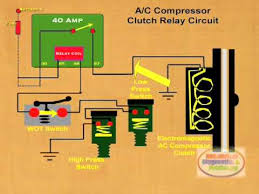 how to wire ac pressor clutch relay