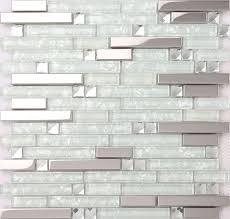 crystal glass tile sheets square tiling