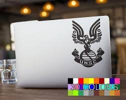 Unsc Decal Etsy