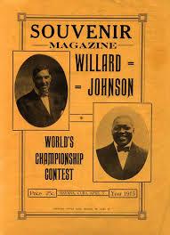 Jess Willard-Jack Johnson: 100 years later - The Ring