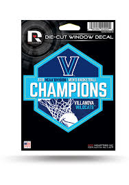Villanova Wildcats 2018 Ncaa Champs Die Cut Auto Decal Blue 7141862