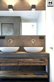 industrial style bathroom for tiny