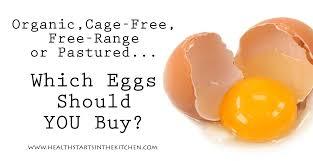 organic cage free free range or