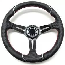 Pro Fit 14 Inch Steering Wheel Carbon Fiber E Z Go Txt Rxv Pf11659