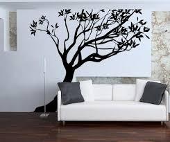 Vinyl Wall Decal Sticker Leaning Tree Ac153 Stickerbrand